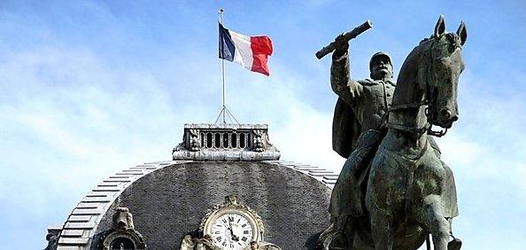 Joffre, Fabry et la statue équestre du champ de mars à Paris… par Laurent Foucault