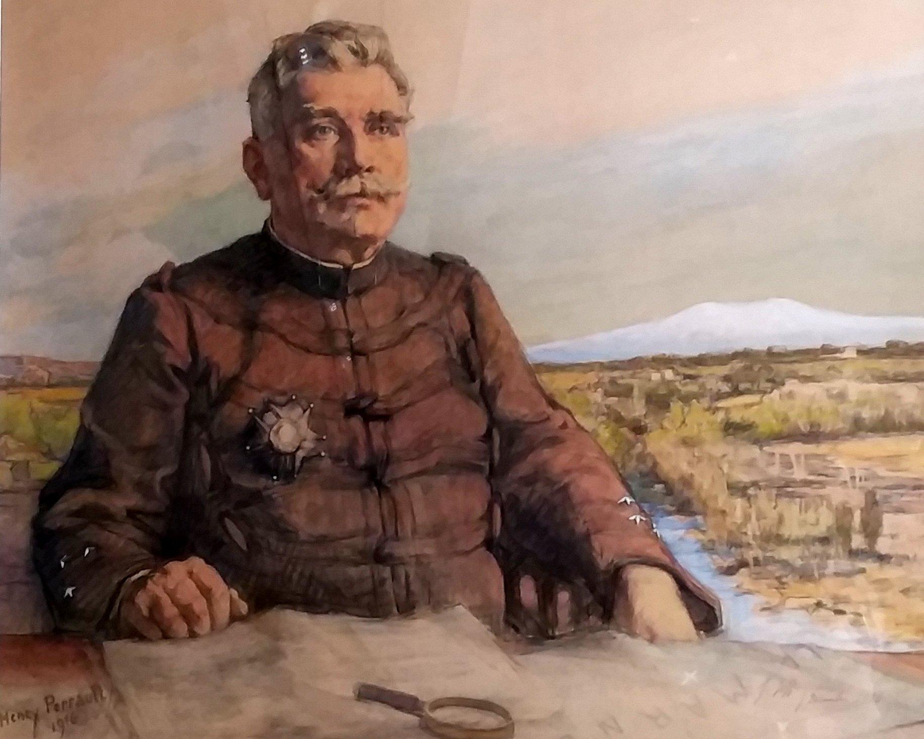 Une œuvre du peintre Henry PERRAULT au musée JOFFRE