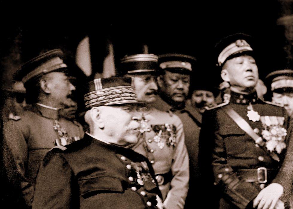 Centenaire de la mission du Maréchal Joffre en Extrême-Orient par monsieur Antoine Oustrin de la Société d'Histoire des Français de Chine.