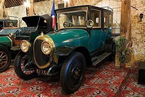 La voiture catalane du maréchal Joffre