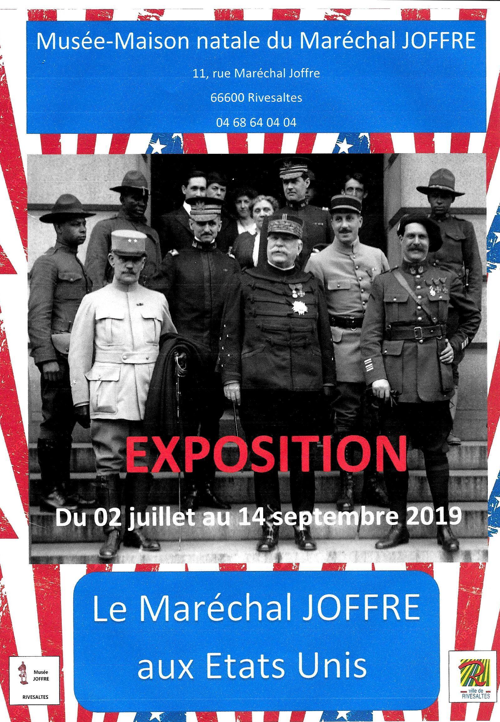 Visitez l'exposition temporaire «Le Maréchal Joffre aux Etats Unis «